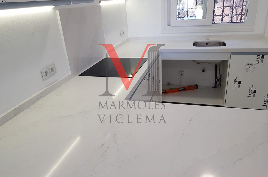 Encimera Eternal Calacatta – Puerto Banus – Marmoles Viclema Málaga
